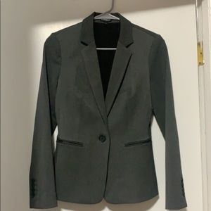 Gray Express Suit Jacket